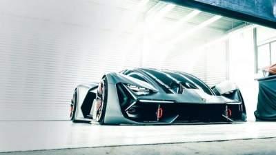 Lamborghini представила 1-ый гибрид суперкара Terzo Millennio